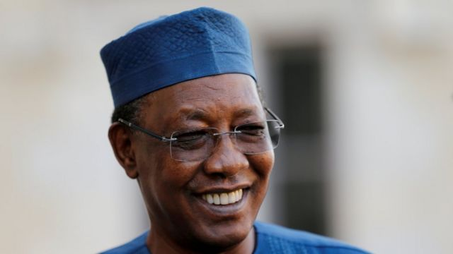 El ex presidente de Chad, Idriss Deby