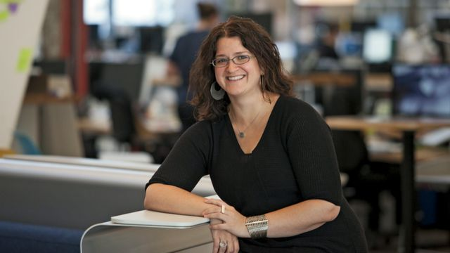 Sandy Speicher, CEO of IDEO.