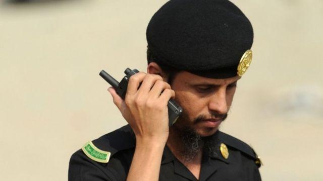 رجل أمن سعودي
