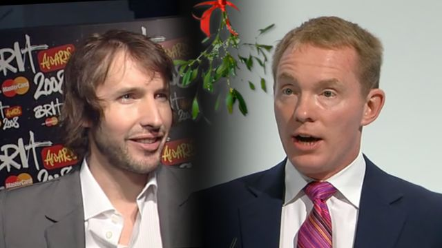 Singer James Blunt clashed with Labour politician Chris Bryant