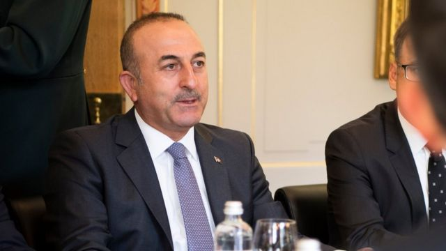 وزير الخارجية التركي مولود جاويش اوغلو