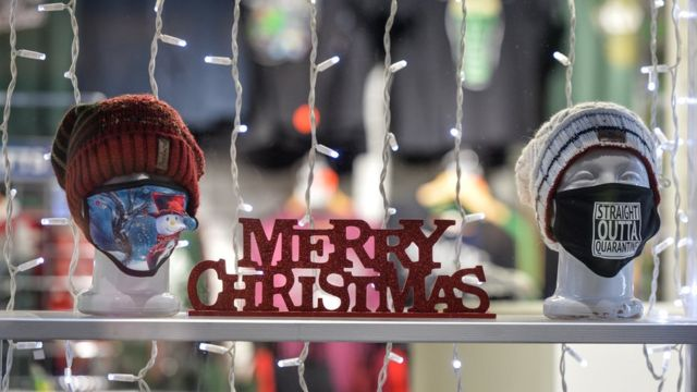 Noel bu yıl koronavirüs kısıtlamalarının gölgesinde kaldı.