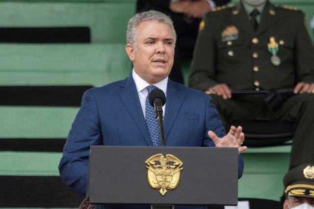 El presidente de Colombia, Iván Duque, anuncia reformas a la policía