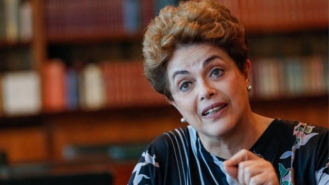 Presidente Dilma em entrevista à BBC
