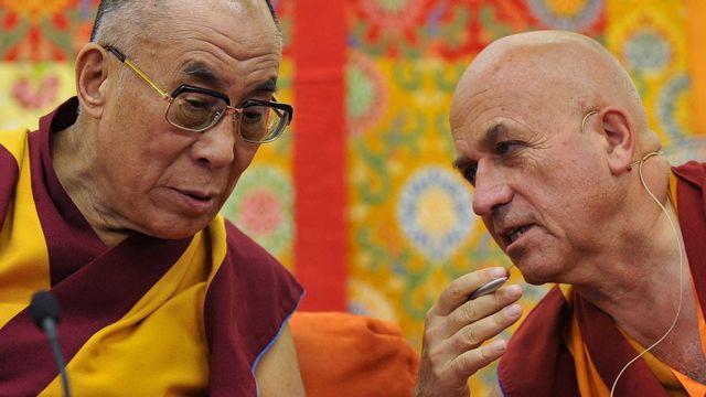 Dalai Lama y Ricard.