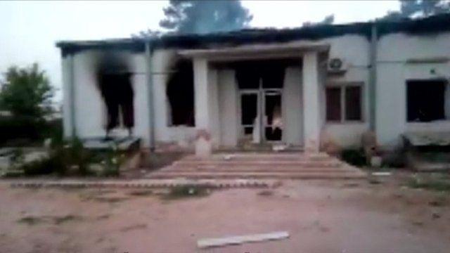 The smoking remains of Kunduz clinic