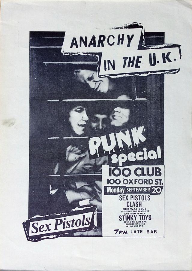 Афиша 100 Club Punk Special