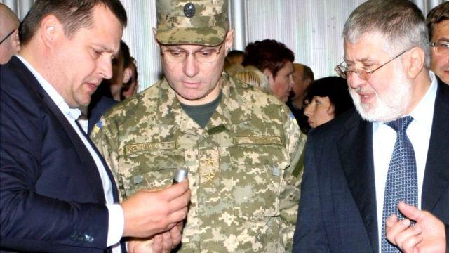Борис Філатов, Руслан Хомчак та Ігор Коломойський