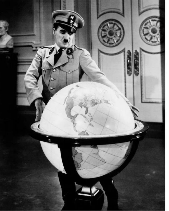 《大独裁者》于1940年上映,因其先知之见而广受赞誉。(photo:BBC)