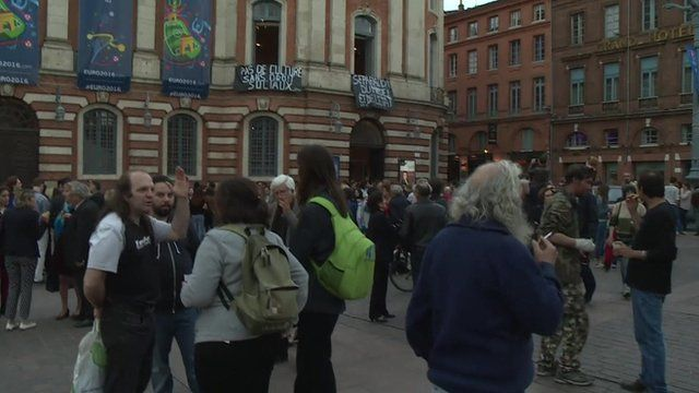 Toulouse protests