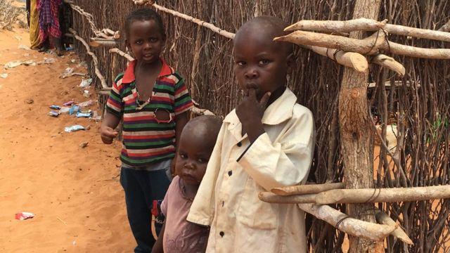 Kids in Dadaab