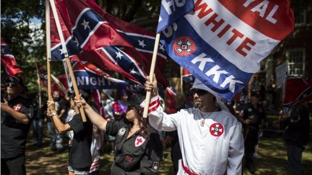 El Ku Klux Klan tiene miembros en estados alrededor de Estados Unidos.