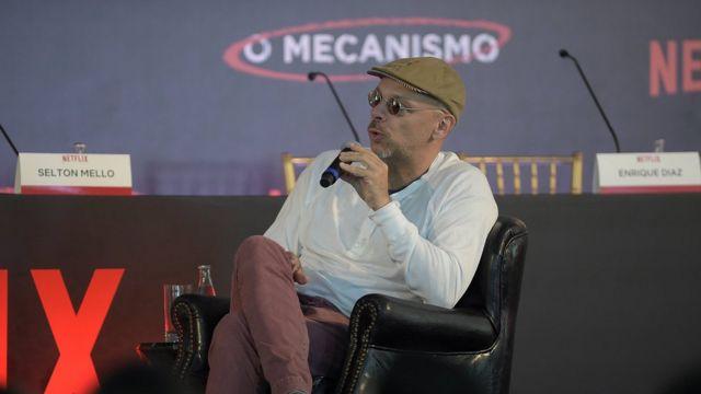 O diretor José Padilha dirigiu a série O Mecanismo, inspirada na Lava Jato, para a Netflix