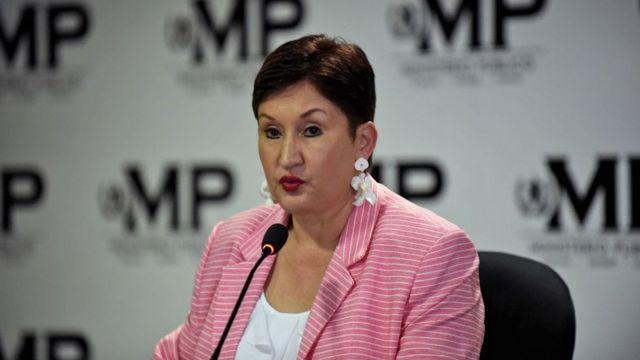 Thelma Aldana, candidata a la presidencia de Guatemala.