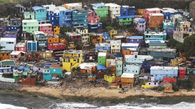 Puerro Rico sufrió graves daños con el huracán María.