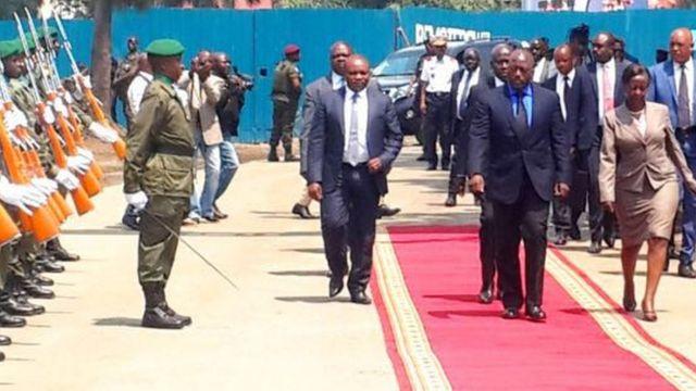Perezida Kabila amaze kwinjira mu Rwanda