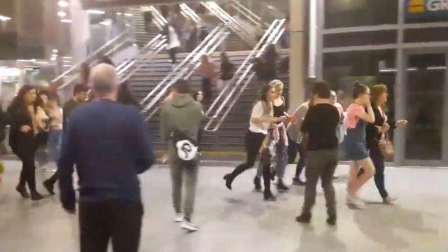 Video del interior del Manchester Arena