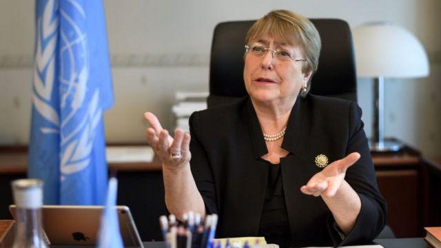 Michelle Bachelet yavuze aya majambo ku musi wa kane