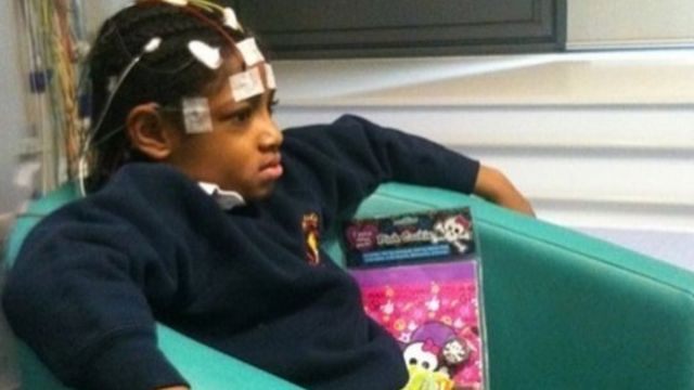 She Kissi-Debrah at St Thomas' Hospital in London