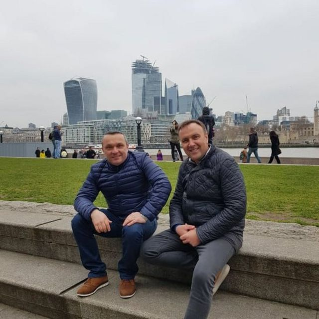Руслан Мочарський та Анатолій Кириченко