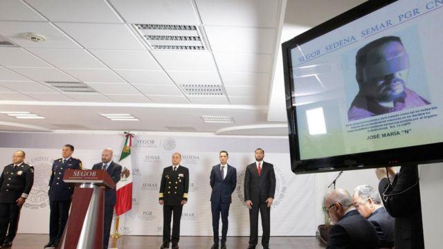 خبر رسمی بازداشت آقای والنسیا روز جمعه طی یک کنفرانس خبری در شهر مکزیکوسیتی اعلام شد
