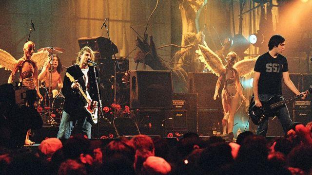 Nirvana sahnede