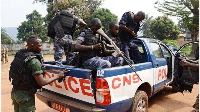 rca, policiers, gendarmes