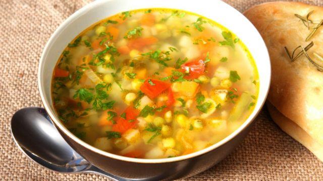 овочевий суп, рецепт