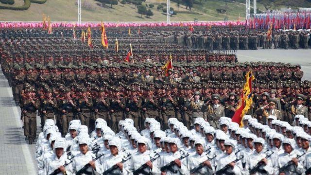 تصاعد التوتر بين واشنطن وبيويانغ على خلفية البرامج النووية والصاروخية لهذه الأخيرة