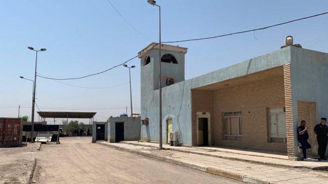 Кэмп Стивен - база, где предположительно совершались военные преступления
