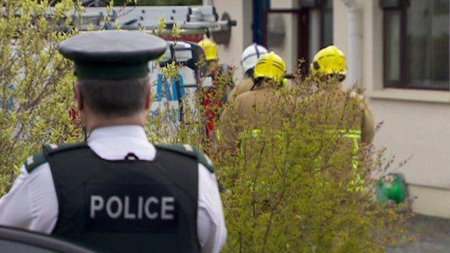 Scene of carbon monoxide incident in Newcastle