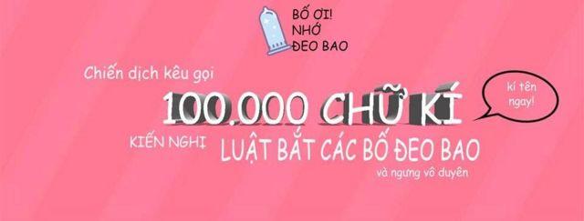 """Nguyễn Đoàn Đan Phương nói muốn đưa trang """"Bố ơi Nhớ đeo bao"""" thành một trang phổ cập giáo dục giới tính, tình dục đồng thuận và an toàn, và ủng hộ quyền được lựa chọn và nâng cao và nhận thức về nạo phá thai ở Việt Nam"""