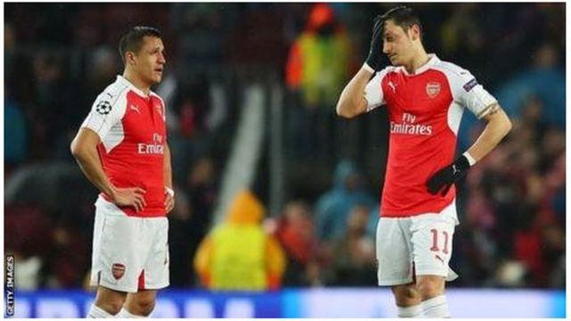 Wachezaji Sanchez na Ozil wa Arsenal