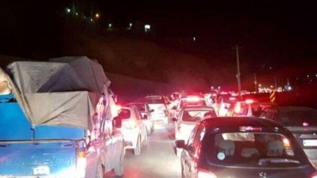 هجوم مسافران به استان مازندران