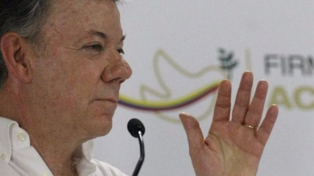 Prezida wa Colombia Juan Manuel Santos