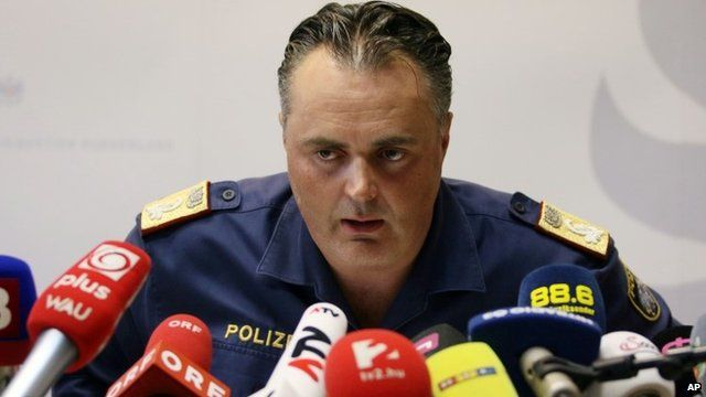 Police Director of the Austrian province of Burgenland Hans Peter Doskozil