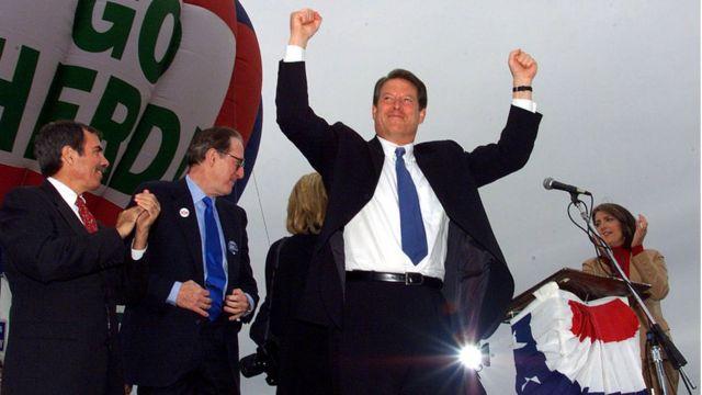 Al Gore en West Virginia.