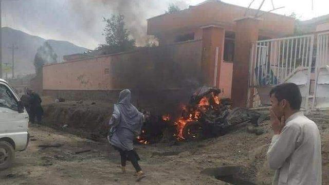 انفجار در نزدیک یک مدرسه در غرب کابل