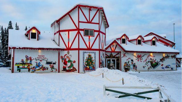 Santa Claus House in North Pole, Alaska