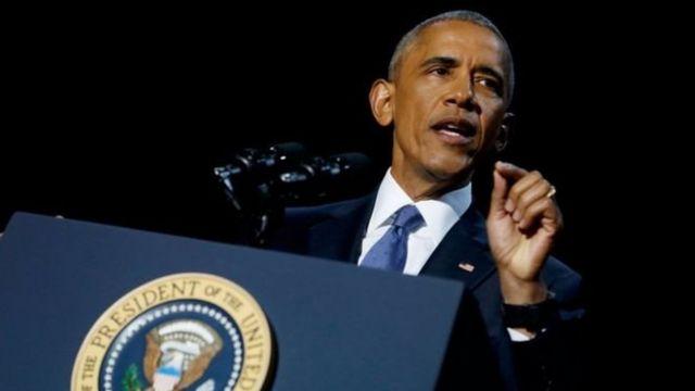Obama zai bar mulki ranar 20 ga watan Janairu
