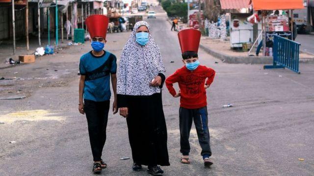 عيد الفطر في غزة