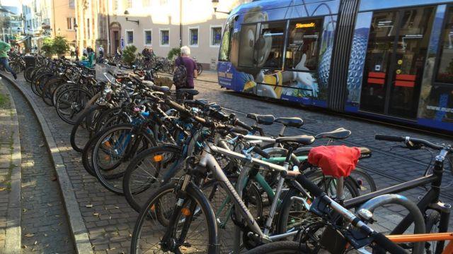 Bicicletas en Friburgo
