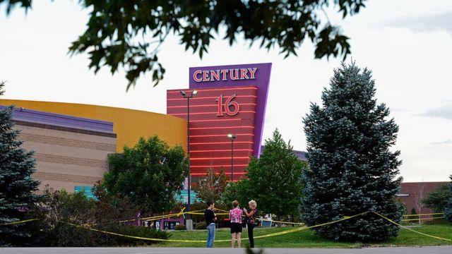 Cine Century 21 de Colorado donde ocurrió el ataque.