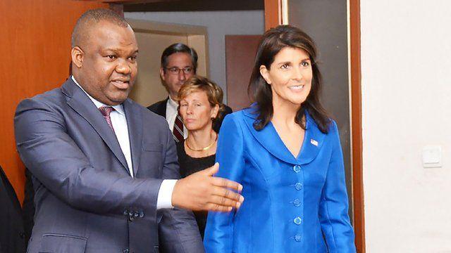 RDC, ceni, nikki Haley, BBC Afrique