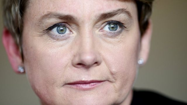 Yvette Cooper: Man who made threats given caution