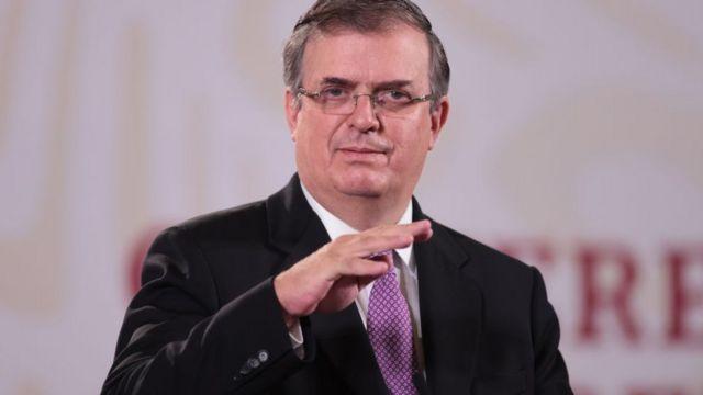 Marcelo Ebrard in August 2020.
