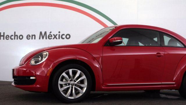 Auto hecho en México.