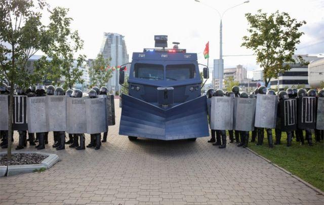 Booliiska rabshada ka hortaga ee Belarus