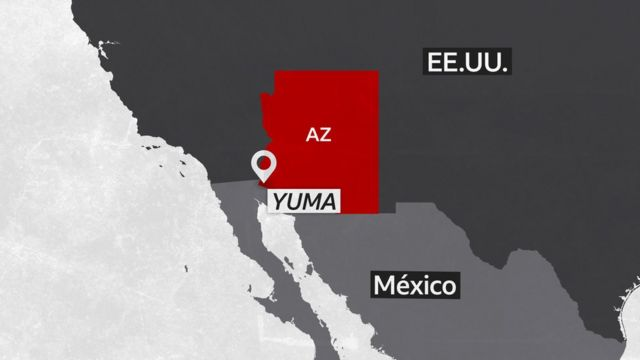 Mapa de Yuma