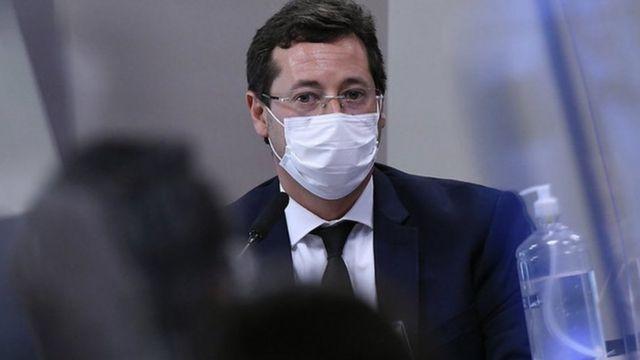 Fabio Wajngarten na CPI nesta quarta